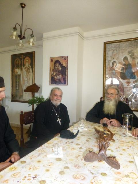 Отац Војислав Билбија и отац Јоил