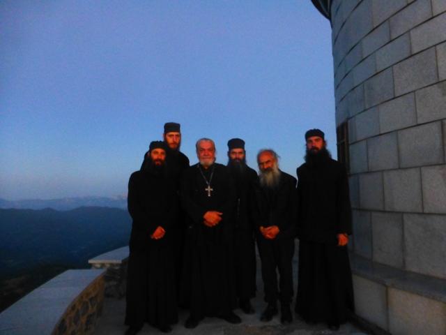 Crkva Tavor i monasi oca Joila sa protom Vojom Bilbijom